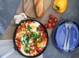 Paprike i jaja sa senfom