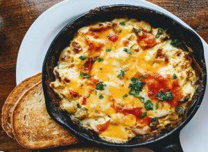Šiš od povrća i sira
